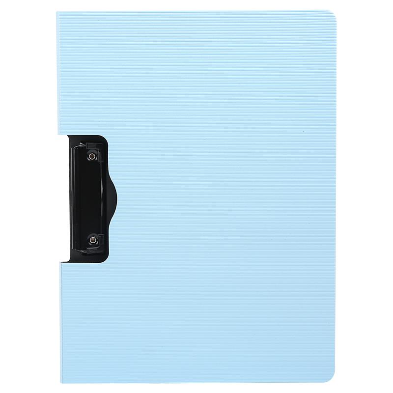 晨光(M&G)ADMN4174睿智系列A4横式书写板夹加厚文件夹垫板 蓝色  横竖可选
