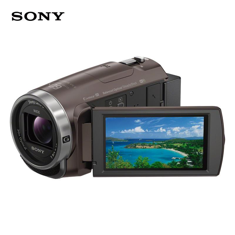 索尼HDR-CX680(闪迪64G超级至尊内存卡300M/S+三脚架+电池套装+相机包+保护镜+读卡器+清洁套装)
