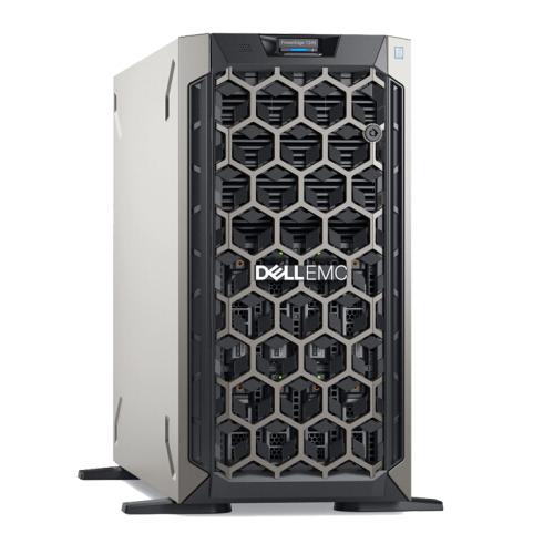 戴尔PowerEdge T340服务器(英特尔至强 E-2124/16G/240G+2T/RAID卡/双电源/三年原厂上门)