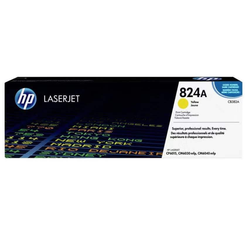 惠普(HP)CB382A 黄色墨粉 824A (适用CP6015/CM6030mfp/CM6040mfp机型)