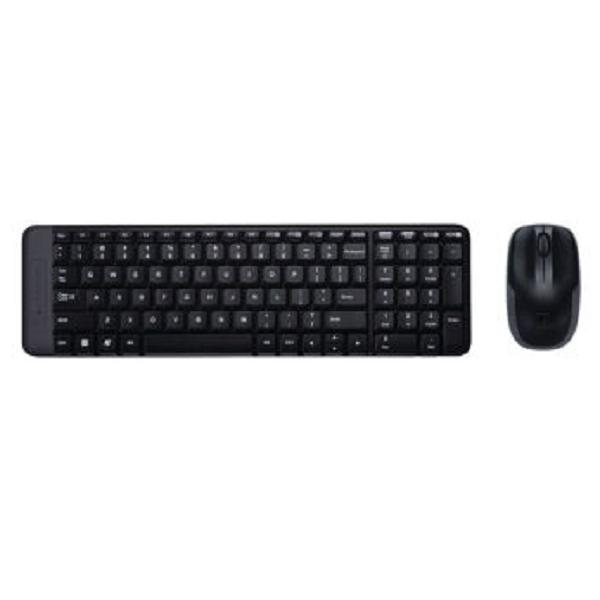 罗技(Logitech)MK220 无线光电键鼠套装 无线鼠标无线键盘套装