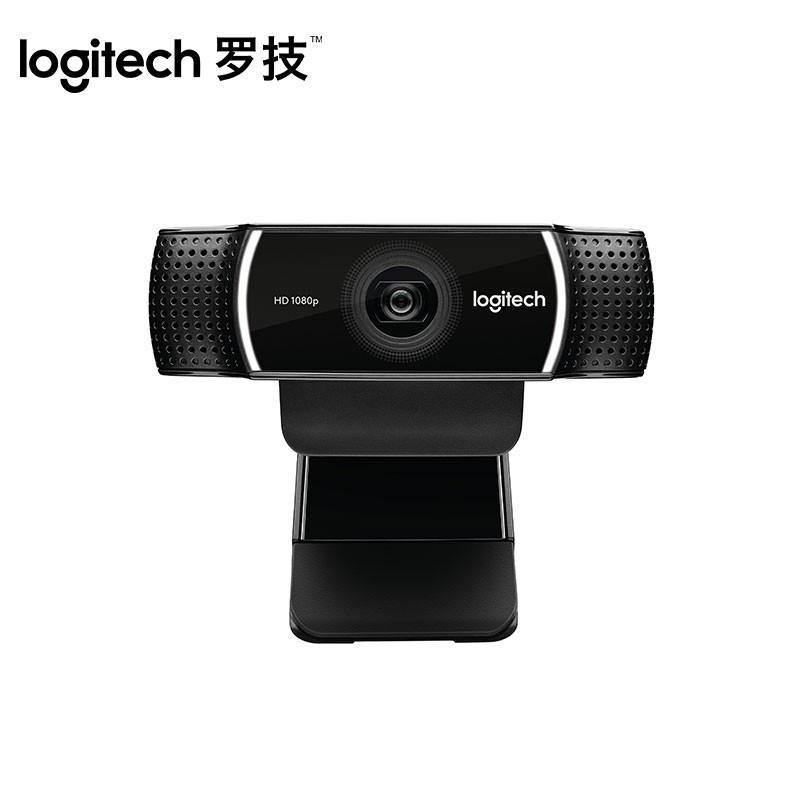 罗技 C922 PRO 高清网络主播摄像头