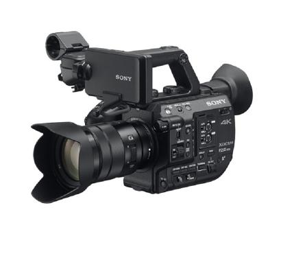 索尼(SONY)PXW-FS5M2K(含18-105镜头)专业摄像机 专业数码4K便携式摄录一体机(索尼电池+闪迪256G卡+索尼原装包+沣标三脚架+索尼(SONY) 索尼小蜜蜂无线麦克风 uwp-d11)