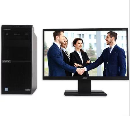 宏碁台式电脑VERITON D430(I5-7500/4G/1T/DVDRW/集显/21.5寸/win10Home三年保修)